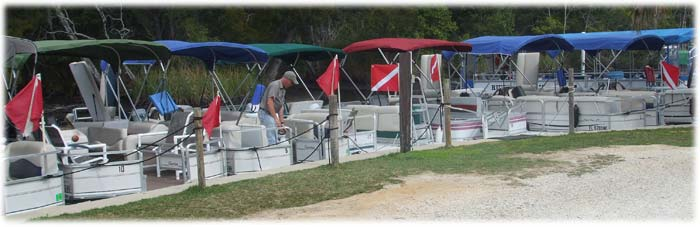 Rental Pontoon Boats - River Safaris