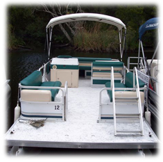 Rental Pontoon Boats 21 foot - River Safaris